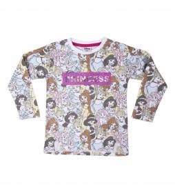 Camiseta manga larga Princess rosa