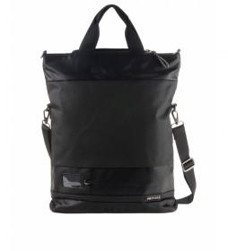 Bandolera Convertible en mochila BHPR00560 negro -45x35x11xcm-