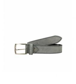 Cinturón de piel CIPR73602 gris
