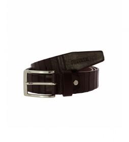 Cinturón de piel CIPR73203 marrón