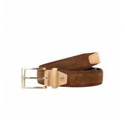 Cinturón de piel CIPR73607 marrón