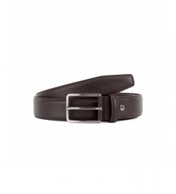 Cinturón de piel CIPR79001 marrón