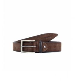 Cinturón de piel CIPR79002 marrón