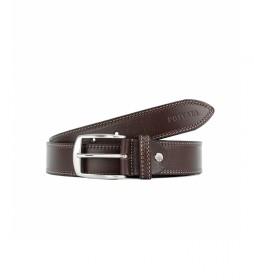 Cinturón de piel CIPR79003 marrón
