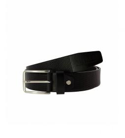 Cinturón de piel CIPR73514 negro