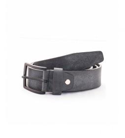 Cinturón de piel CIPR73625 negro