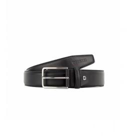 Cinturón de piel CIPR79001 negro