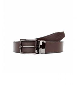 Cinturón Reversible de piel CIPR79005 marrón, azul