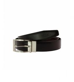 Cinturón Reversible de piel CIPR73510 negro, marrón