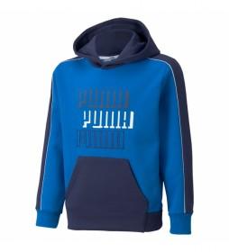 Sudadera Alpha azul