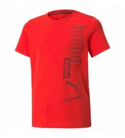 Camiseta Alpha rojo