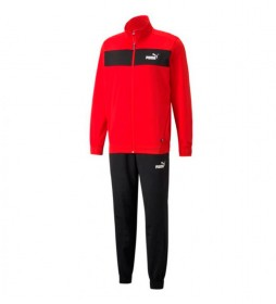 Chándal Poly Suit cl rojo