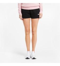 Shorts Deportivos Essentials negro