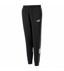 Pantalones ESS+ Colorblock negro