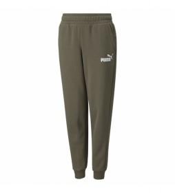 Pantalones ESS Logo verde