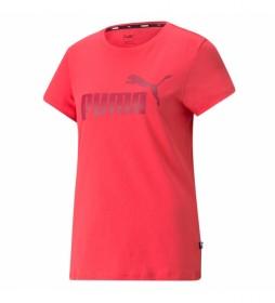 Camiseta ESS Tee rosa