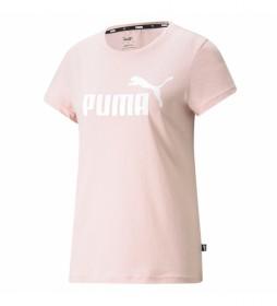 Camiseta ESS Logo rosa