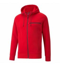 Chaqueta Ferrari Style Hooded rojo