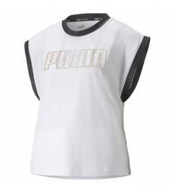 Camiseta Moto blanco