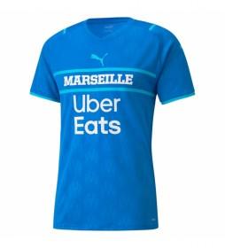Camiseta OM  Replica azul