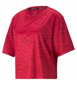 Camiseta Performance AOP SS rojo