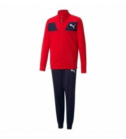 Conjunto Poly Suit cl B High Risk rojo