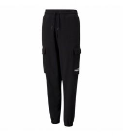 Pantalones Cargo Sweatpants negro
