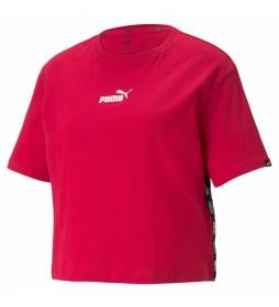 Camiseta Cropped Tee rojo