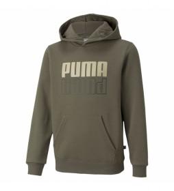 Sudadera Puma Power Logo verde