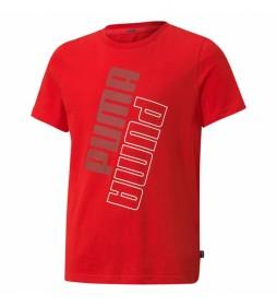 Camiseta Power rojo