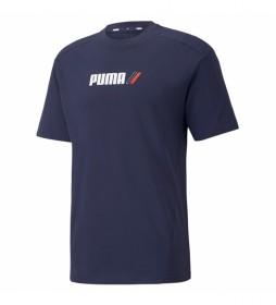 Camiseta RAD/CAL marino