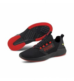 Zapatillas Running Retaliate negro, rojo