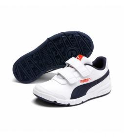 Zapatillas Stepfleex 2 SL VE V blanco, marino