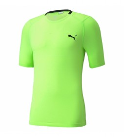 Camiseta TRAIN EVOKNIT+ SS verde