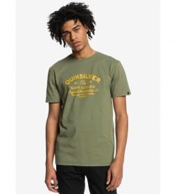 Camiseta Closed Caption verde