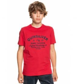 Camiseta Closed Captions rojo