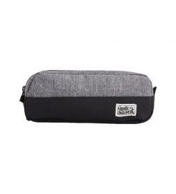 Estuche Tasmen gris -5x23x8,5cm-