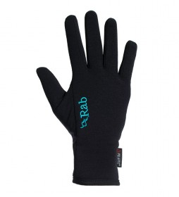 Rab Guantes Power Stretch Pro  negro
