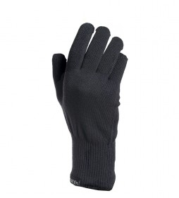 Rab Guantes Stretch Knit negro