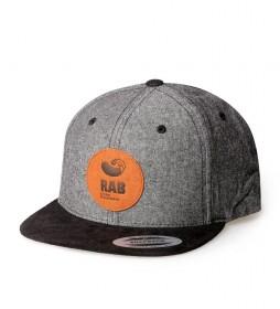 Rab Gorra Forge Cap negro, gris