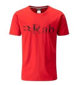 Rab Camiseta Stance Logo rojo