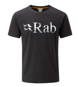 Rab Camiseta Stance Logo negro
