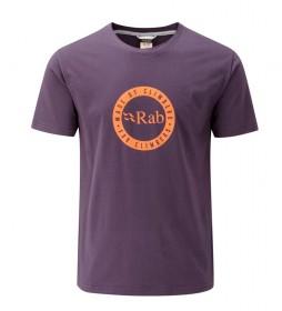 Rab Camiseta Stance Motif morado