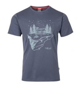 Rab Camiseta Stance Cabin gris