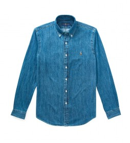 Camisa 710548539001 denim azul