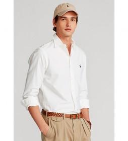 Camisa  Oxford Custom Fit blanco