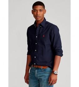 Camisa  Oxford Custom Fit marino