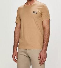 Camiseta Homewear Cuello Redonod marrón