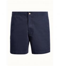Pantalón Corto Polo de Sarga marino