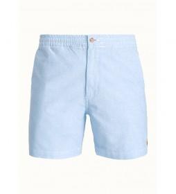 Pantalón Corto Polo de Sarga azul